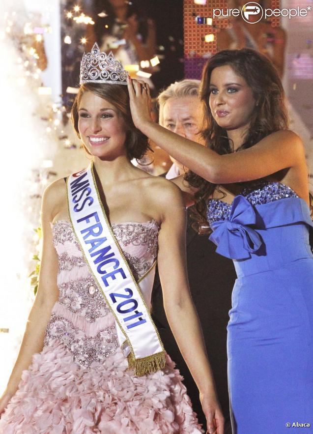 Laury Thilleman, Miss France 2011, retourne dans sa région natale de la Bretagne, samedi 18 décembre, pour une semaine.