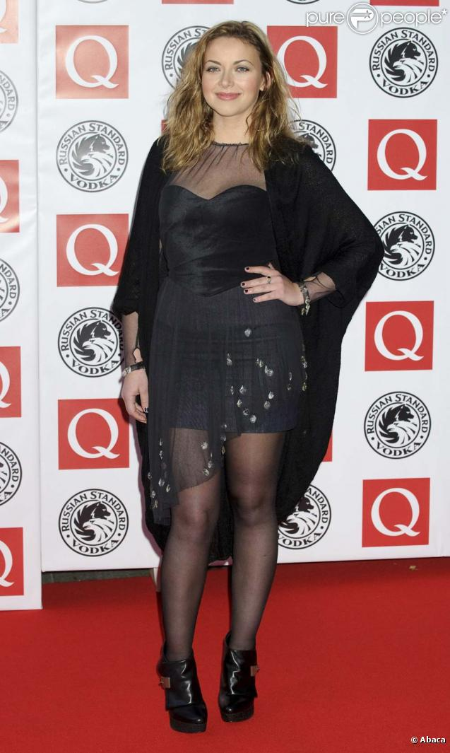 Charlotte Church, cérémonie des Q Awards, Londres, 25 octobre 2010