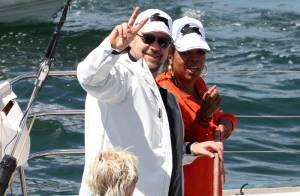 Oprah Winfrey et Russell Crowe sont sur un bateau, mais sa femme veille !