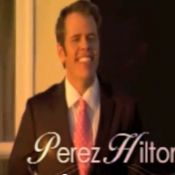 Quand Perez Hilton se la joue célibataire et tombeur de filles, c'est hilarant !