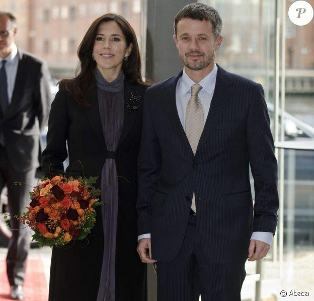 Mary et Frederik de Danemark en septembre 2010