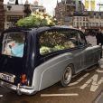 Obsèques de Bobby Farrell de Boney M, à Amsterdam, le 8 janvier 2010