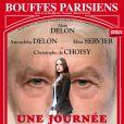 Une Journée Ordinaire - Affiche de la pièces avec Alain et Anouchka Delon