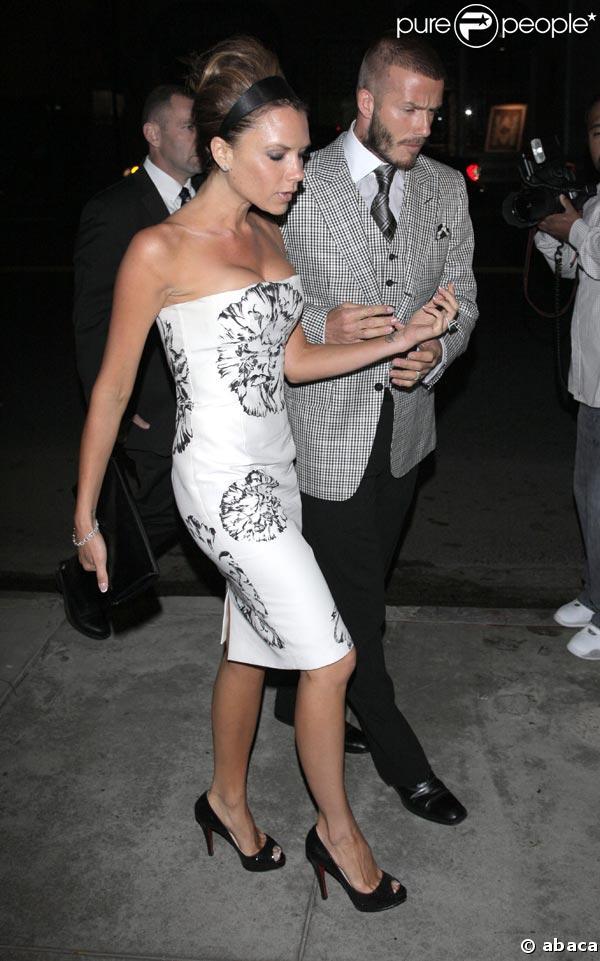 Victoria Beckham et David Beckham