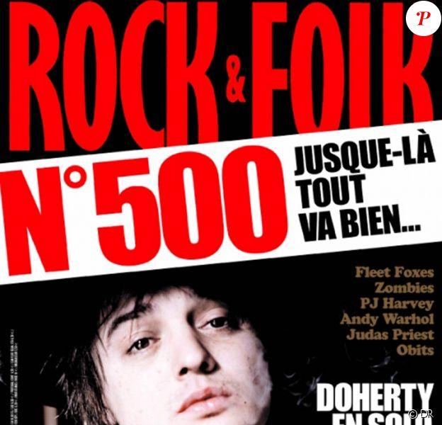 Rock & Folk (photo : le numéro 500, en avril 2009) a perdu l'une de ses légendes. En réalité, Daniel Vermeille, décédé le 23 janvier 2011 dans un parking de Sète, s'était perdu il y a longtemps...