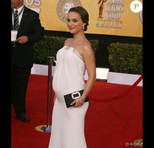 Natalie Portman lors des Screen Actors Guild Awards le 30 janvier 2011 à Los Angeles