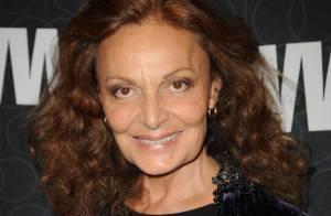 Diane Von Furstenberg : Accidentée au ski, elle ressemble à... Mike Tyson !