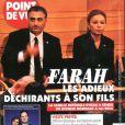 Couverture du magazine Point de Vue, consacrée à Farah Diba