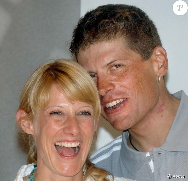 Jan Ullrich et son épouse Sara Steinhauser, 2005
