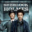 L'affiche du premier  Sherlock Holmes , sorti en 2010.