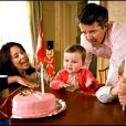 Le prince Frederik du Danemark et sa femme fêtent le premier anniversaire de leur fille Isabella