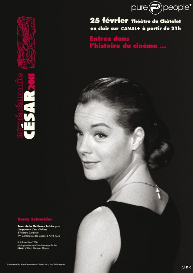 L'affiche de la cérémonie des César 2011