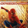 L'affiche DVD du premier  Spider-Man.