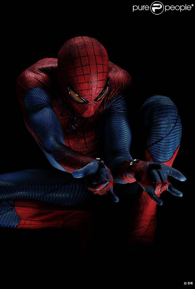 La première affiche officielle de  The Amazing Spider-Man.