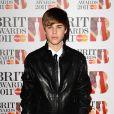 Justin Bieber, lors des Brit Awards, le 15 février, à Londres.