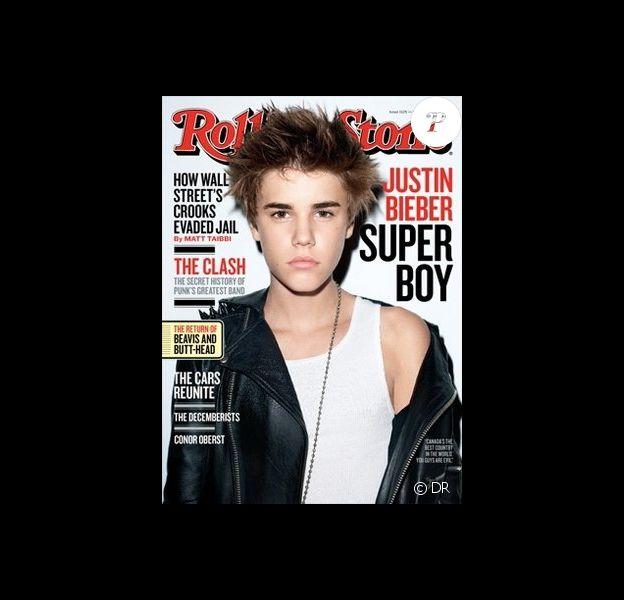 Justin Bieber décroche la couverture du dernier numéro de Rolling Stone.