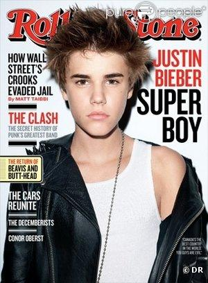 Justin Bieber décroche la couverture du dernier numéro de  Rolling Stone .