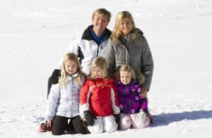 Maxima, Willem-Alexander et les royaux sur les pistes avec tous leurs enfants !