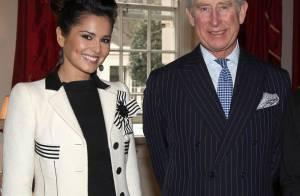 Cheryl Cole ravie de son moment privilégié avec son mentor, le prince Charles !