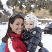 Marie de Danemark : Son petit prince Henrik, 1 an, découvre les sports d'hiver !