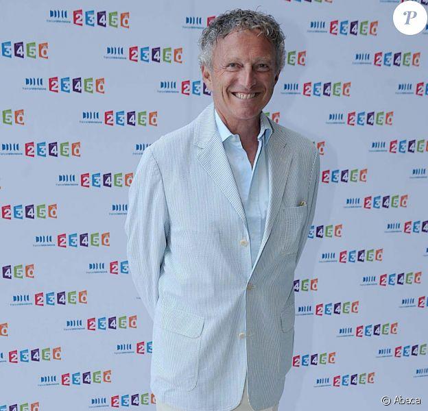 Nelson Monfort, Paris, le 3 septembre 2010