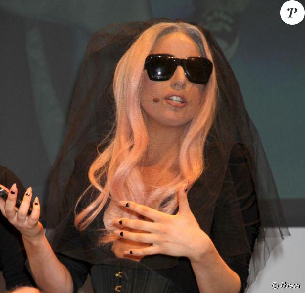 Lady GaGa en janvier 2011