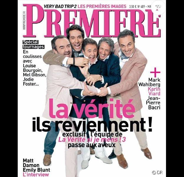La couverture du magazine Première, édition mars 2011