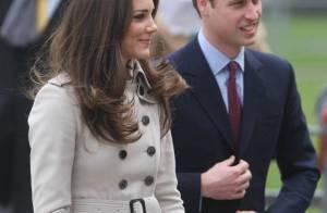 Le prince William et Kate Middleton en visite sous très haute tension !