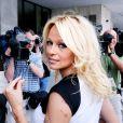 Pamela Anderson : so sexy au Capitol pour défendre les animaux...