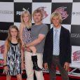Rick Schroder en famille à la première de Speed Racer, le 26/004/08