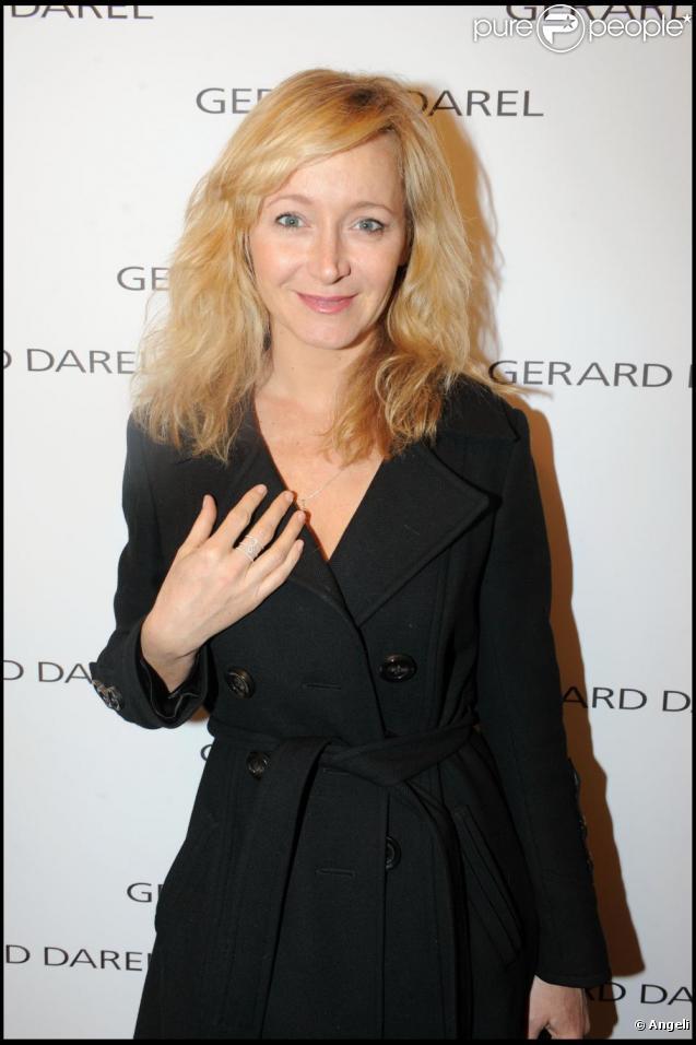 Julie Ferrier le 9 mars 2011, à Paris.