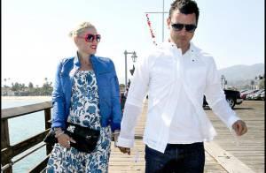 PHOTOS : Gwen Stefani et son mari en amoureux au bord de la mer...