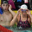 Aux championnats de France de natation, à Strasbourg du 23 au 27 mars 2011, la nageuse italienne Federica Pellegrini, non engagée, a suivi son mentor Philippe Lucas et son bien-aimé Luca Marin, qui a disputé le 24 les séries du 200 brasse.