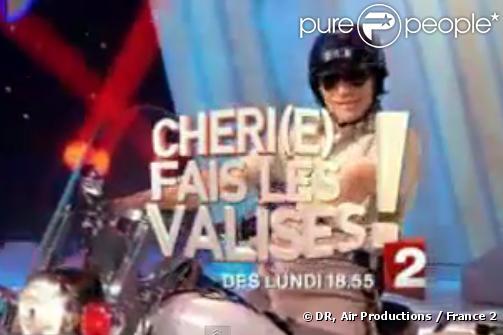 Nagui en délire dans Chéri(e), fais les valises sur France 2