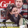 Couverture du magazine Gala en kiosques le 6 avril 2011