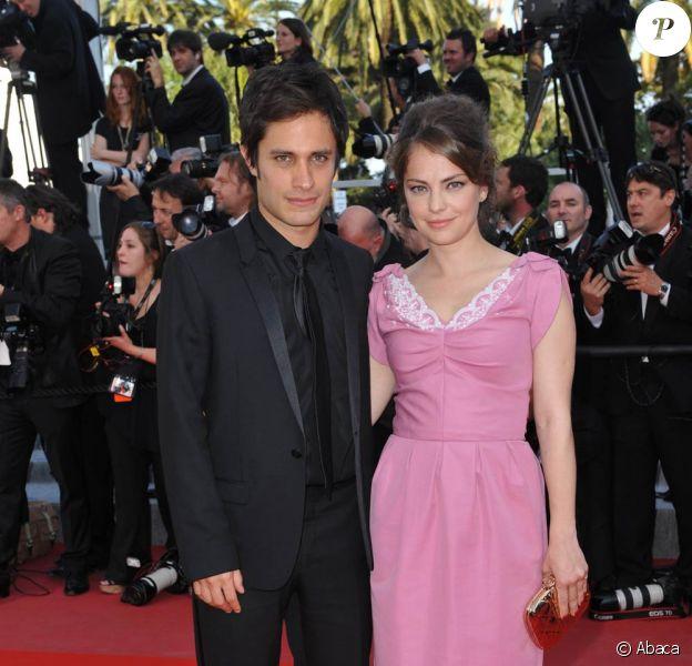 Gael Garcia Bernal et sa femme Dolores Fonzi lors du 63e Festival de Cannes, en mai 2010.