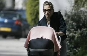 Rachel Stevens : Sa petite Amelie, 5 mois, peut enfin profiter des beaux jours !