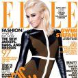 Gwen Stefani en couverture du magazine  ELLE , édition américaine, mai 2011.