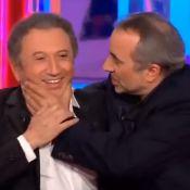 Michel Drucker pris d'assaut par un comédien débordant d'énergie !