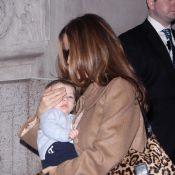 Kelly Preston : Madame Travolta en balade avec son fils Benjamin, irrésistible !