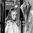 Catherine Deneuve, star des  Parapluies de Cherbourg , un film de Jacques Demy qui reçu la Palme d'Or en 1964