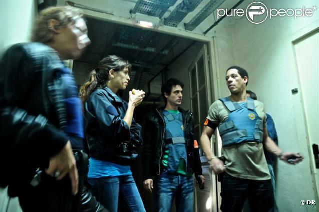Maïwenn réalise et joue avec Joey Starr dans  Polisse , présent dans la sélection officielle de Cannes en 2011