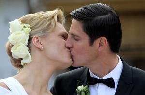 Maria Riesch : Après le mariage civil en bronze, le mariage religieux en blanc !