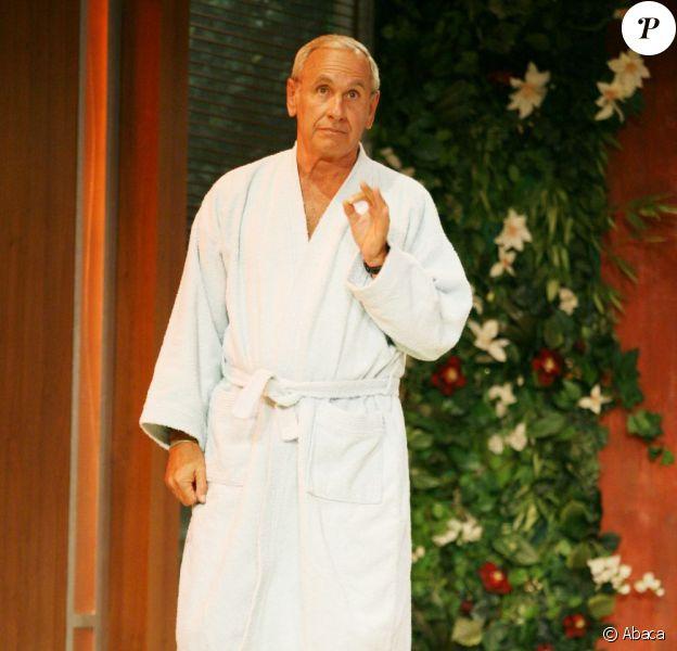 Patrice Laffont dans la pièce Ma femme est parfaite en 2008