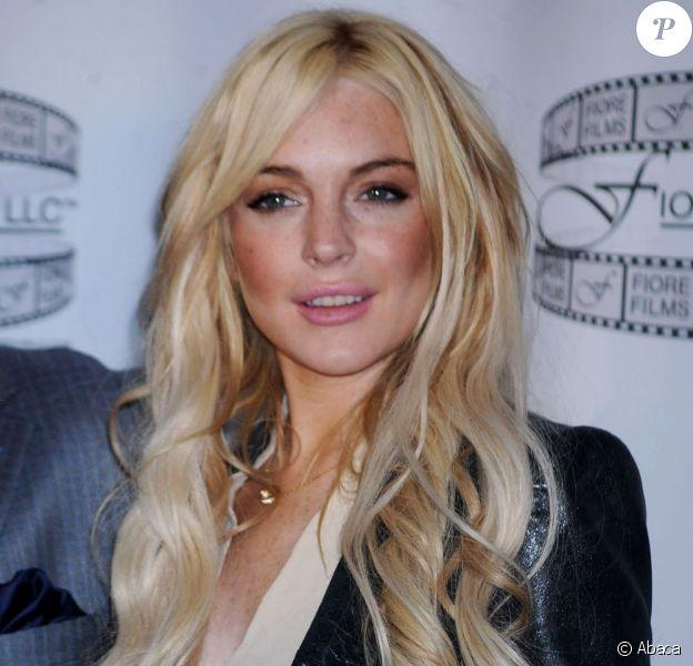 Lindsay Lohan lors de la conférence de presse de Gotti: Three Generations au Sheraton Hotel de New York le 12 avril 2011