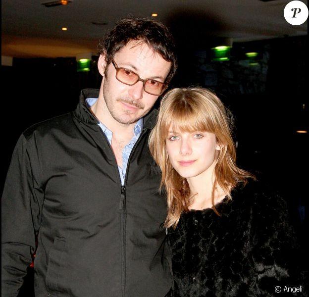 Julien Boisselier et Mélanie Laurent en 2008.
