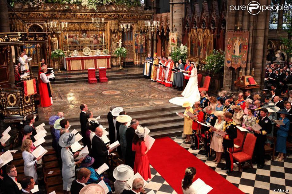 Mariage de William et Kate Middleton dans l\u0027abbaye de Westminster à Londres  le 29 avril 2011