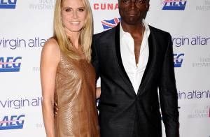 Heidi Klum, tout de cuir vêtue, et Seal : Un duo amoureux et glamour !