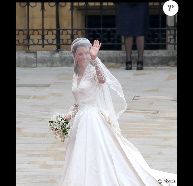 Kate Middleton a fait sensation avec son make-up naturel le 29 avril 2011 à Londres