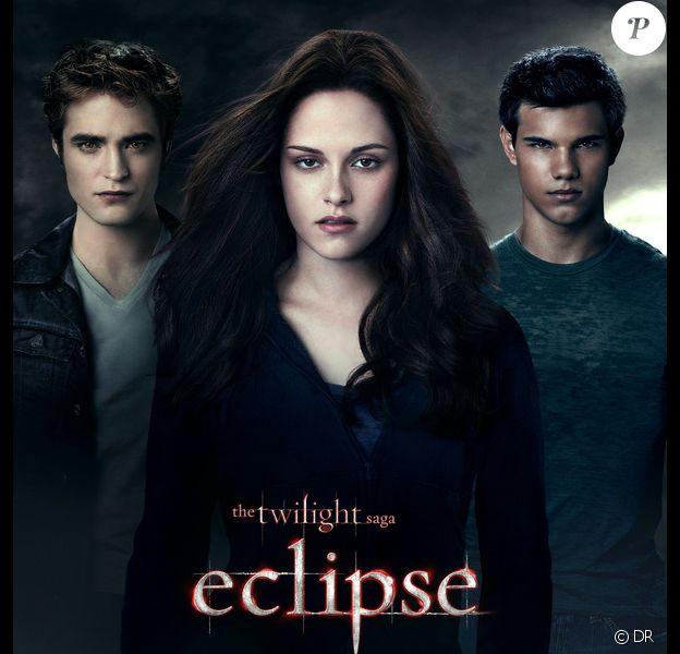 L'affiche du film Twilight chapitre 3 - Hésitation